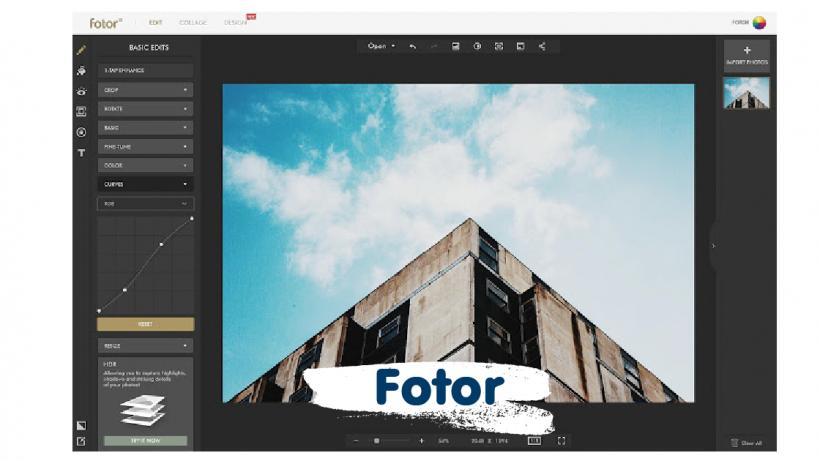 โปรแกรม Fotor
