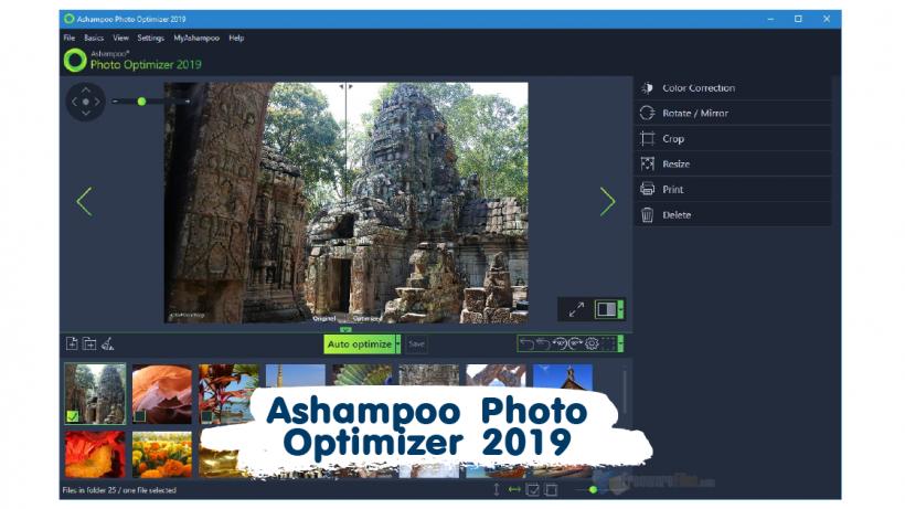 Ashampoo Photo Optimizer 2019