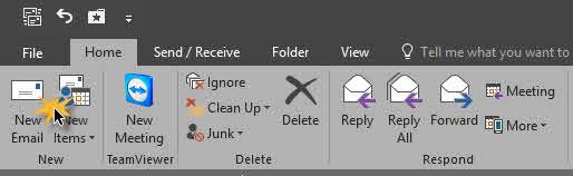 ตั้งเวลาส่งอีเมล์ Microsoft Outlook 2019/2016/2013